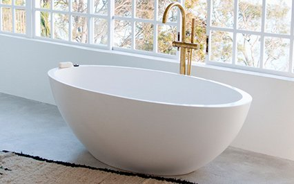 Oval baths